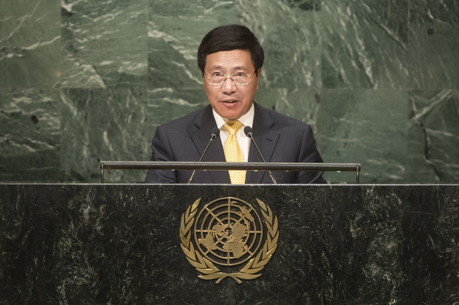 Behind the speech of Vietnam in UN