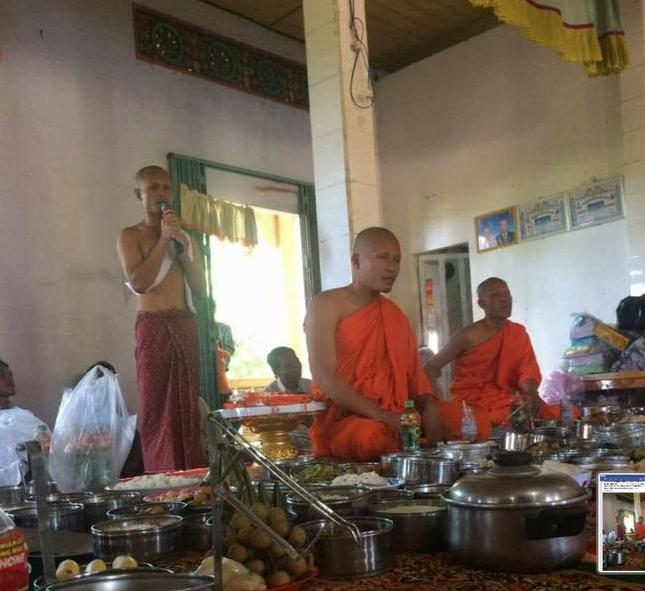 Vietnamese Authority Disrupted Venerable Lieu Ny's Re-ordain Ceremony
